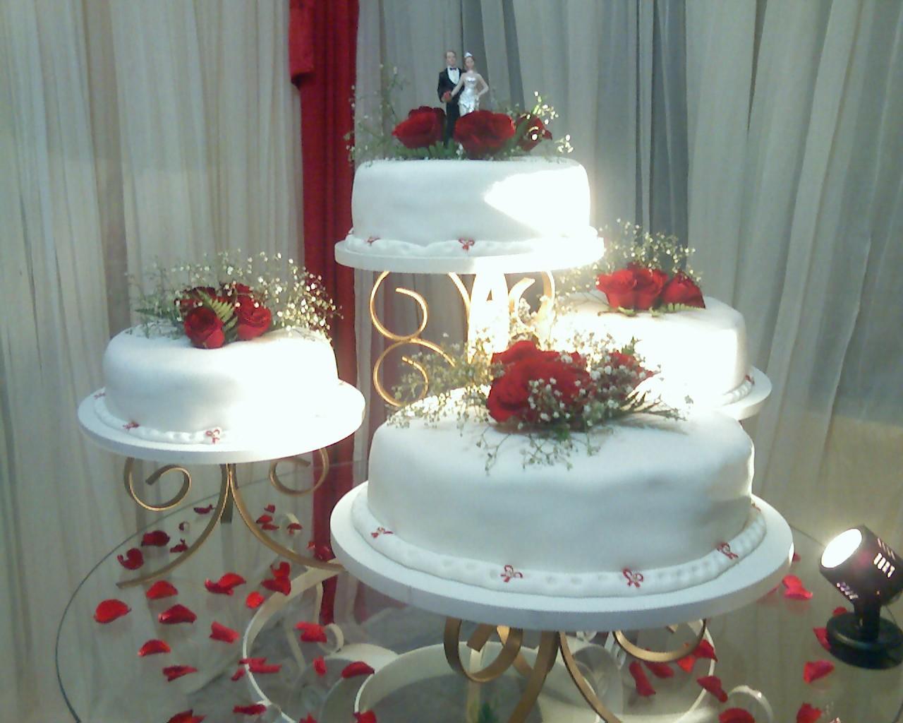 Bolos de Casamento para Inspirar - Blog Click da Foto